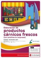 CRUZ ROJA EN VALLADOLID REALIZA UN CURSO DE  'ELABORACION DE PRODUCTOS CARNICOS FRESCOS'  EN COLABORACION CON BANKIA