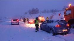 La concesionaria de la AP-1 indemnizó por la nevada de 2004 en Burgos