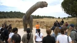 Los dinosaurios dejan un impacto económico de dos millones de euros en la Sierra de la Demanda
