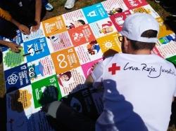 Cruz Roja Juventud en Castilla y León celebra en Peñaranda de Bracamonte el encuentro autonómico Inclueduca