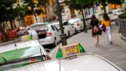 Los taxistas de Castilla y León apoyan a los «compañeros» de Barcelona