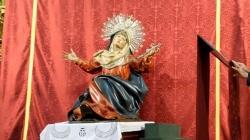ICAL Roban la urna de donativos para sufragar los gastos de la coronación de la Virgen de la Vera Cruz de Valladolid