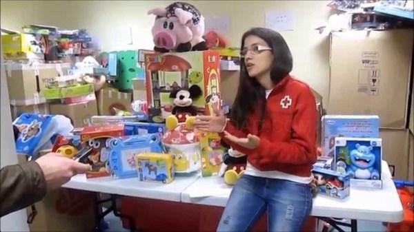 CRUZ ROJA JUVENTUD ORGANIZA UNA GALA PARA LA CAMPAñA DE JUGUETES
