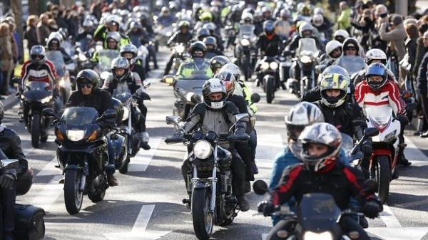 Las motos «toman» Valladolid