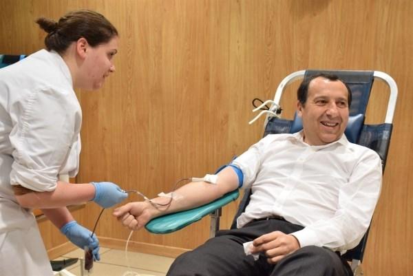 El Centro de Hemoterapia y Hemodonación de Castilla y León recibe más de 106.000 donaciones en 2015