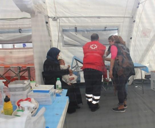 Cruz Roja Española ha atendido a casi 13.000 refugiados en las islas griegas de Samos y Chíos