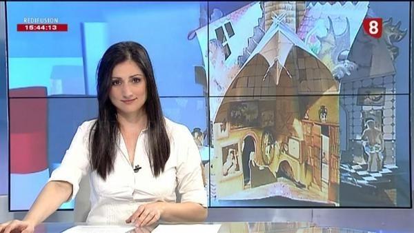 Alma Trabajos acercará la televisión a la plantilla de InformaUVa
