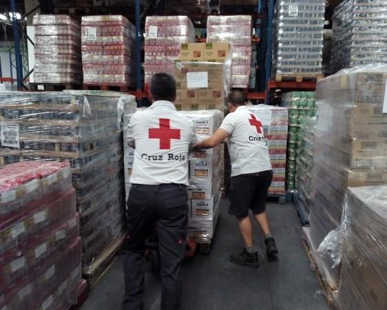 CRUZ ROJA DISTRIBUYE EN VALLADOLID MáS DE 154.000 KILOS DE ALIMENTOS A UNAS 9.000 PERSONAS