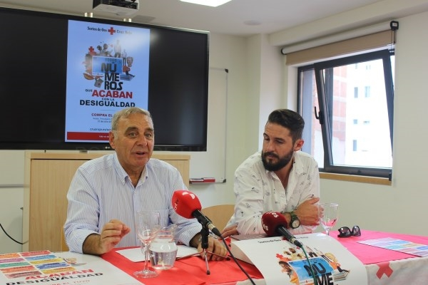 EL CHEF PEñA APOYA  EL SORTEO DE ORO DE CRUZ ROJA ESPAñOLA - CRUZ ROJA VALLADOLID