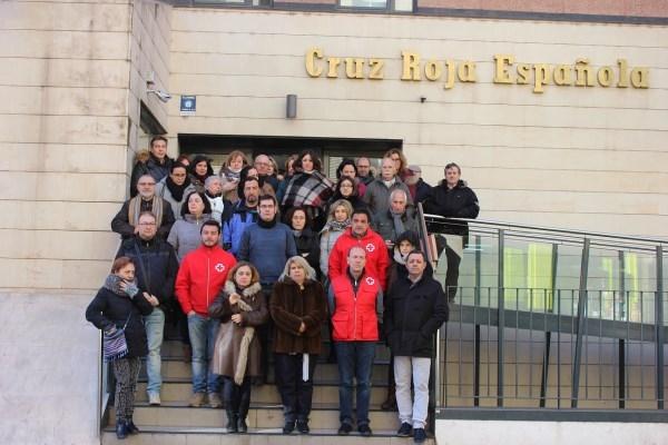 Cruz Roja en Valladolid ha convocado a un minuto de silencio en su sede por la muerte de 6 voluntarios en Nigeria