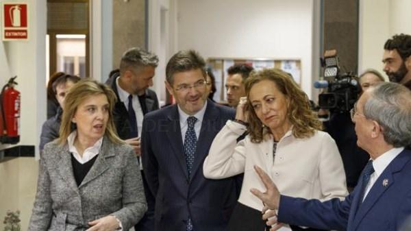CATALá CULPA A PUENTE DE LOS «NUBARRONES» EN LA CIUDAD DE LA JUSTICIA DE VALLADOLID