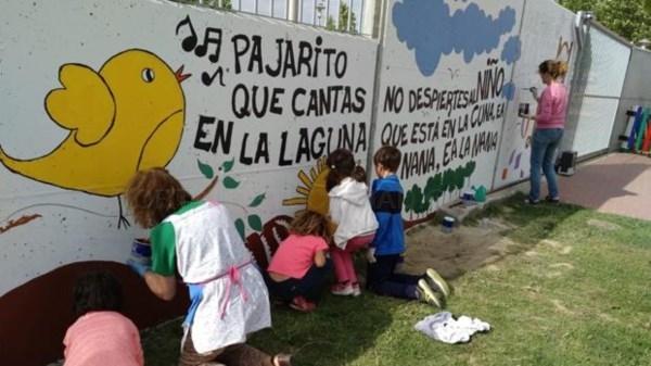 CEIP Joaquín Díaz: un colegio a todo color