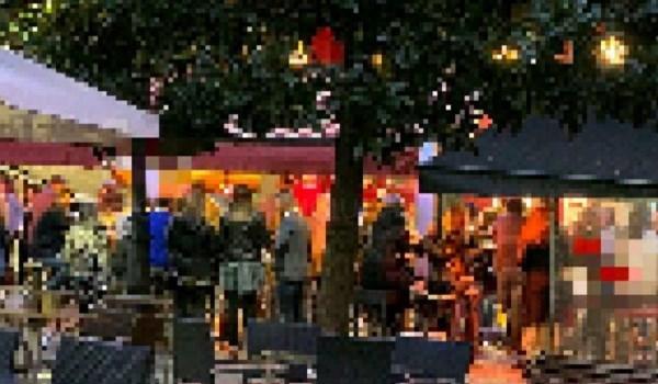 Denunciado un bar del centro de Valladolid por no respetar la distancia entre mesas