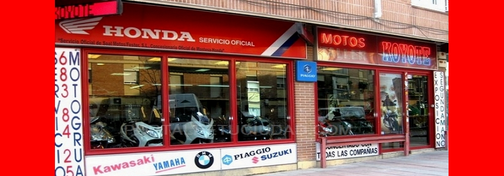 Motos Koyote, Antirrobos de motos. Cascos. Cupulas. Defensas para motos. Distribuidores de productos