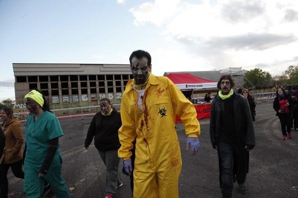 Más de 3.600 participantes en la 'Invasión zombie' a Getafe