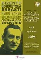 Conciertos de homenaje a Bizente Goikoetxea