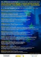 XIII Jornadas Europeas. Integración, crecimiento, empleo y seguridad
