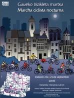 Marcha ciclista nocturna