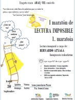 I MARATÓN DE LECTURA IMPOSIBLE