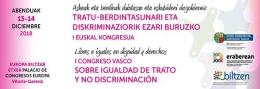 I Congreso Vasco sobre igualdad de trato y no discriminación