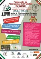 XXVIII Festival de Villancicos y Danzas Extremeñas