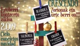 Conciertos de Navidad de la Asociación Musical Crescendo