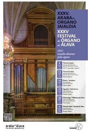 Organo Jaialdiaren XXXV. edizioa