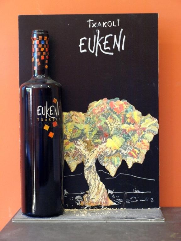 Eukeni: un Txakoli de homenaje