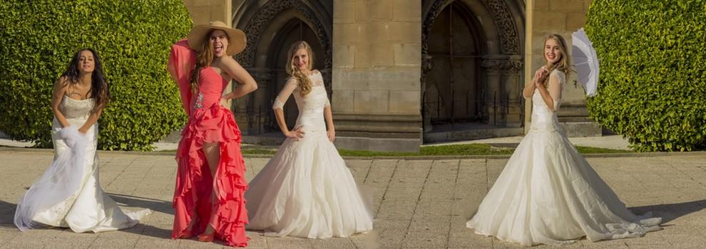 vestido de boda, Novias