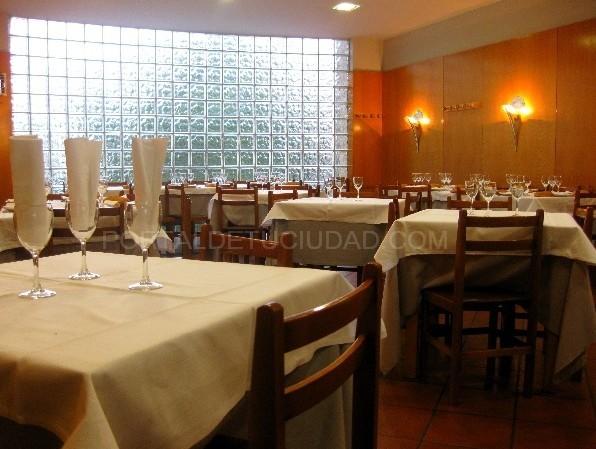 Comedor del Restaurante Albeniz