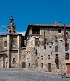 Plaza del Matxete y Palacio Villa Suso en Vitoria-Gasteiz