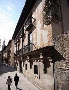 Palacio de la Marquesa en la calle Herrería de Vitoria-Gasteiz