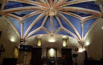 Bóveda de la Casa del Cordón en Vitoria-Gasteiz