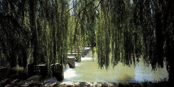 Parque del río Zadorra en Vitoria-Gasteiz