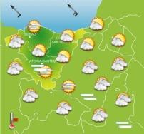 Euskalmet prevee tiempo estable y sin precipitaciones durante el puente