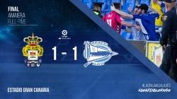 El Glorioso sigue sumando puntos y empata en Las Palmas con un gol de Ibai Gomez