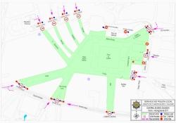 Diez controles de acceso al Txupinazo de las Fiestas de la Blanca