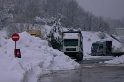 Activada la alerta naranja por nieve a partir de hoy jueves