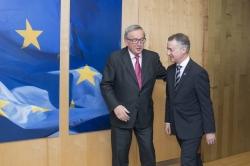 El Lehendakari propone al presidente de la Comisión Europea una estrategia compartida en materia de migración