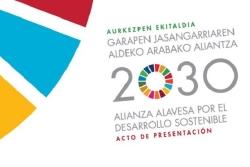 ALREDEDOR DE 40 ENTIDADES DEL HERRIALDE SE COMPROMETERAN CON LA ALIANZA ALAVESA PARA EL DESARROLLO SOSTENIBLE 2030