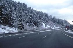 Alerta naranja por nieve en Álava y otras zonas del interior de Euskadi