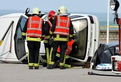 Cerca del 60% de las 51 personas fallecidas en accidente de tráfico en Euskadi en 2019 pertenecía a colectivos vulnerables