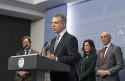 Convocadas las elecciones vascas para el 5 de abril