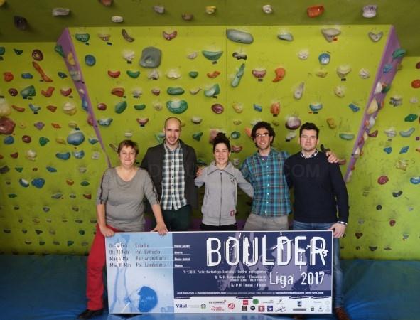 Larunbatean hasiko da Boulder Liga