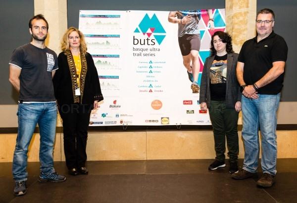 La primera prueba del Circuito Basque Ultra Trail Series (BUTS) de carreras por montaña tendrá su llegada en nuestra ciudad