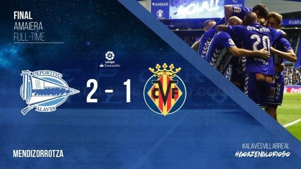 Mendizorrotzan Alavaesen Garaipena, Villarreal ahaltsuaren aurkan