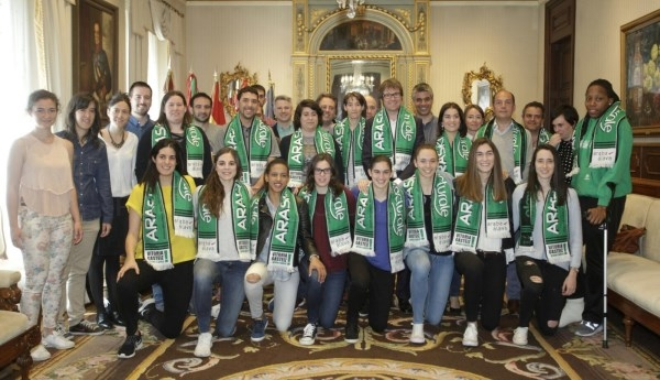 Reconocimiento del Ayuntamiento a la labor y trayectoria deportiva del Lacturale Araski