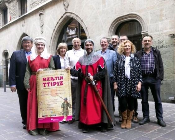 MARTíN TTIPIA VOLVERá A ESTAR PRESENTE EN LAS CALLES DEL CASCO MEDIEVAL