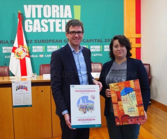GORKA URTARAN Y ESTíBALIZA CANTO /ARGAZKIA: VITORIA-GASTEIZ.ORG