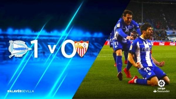 Importante victoria del Deportivo Alavés en Mendizorrotza, ante uno de los equipos punteros de la liga